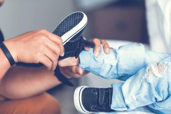 子ども,靴,足育