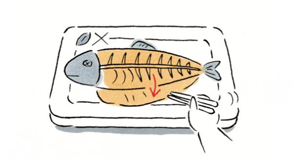 子どもがお魚ギライにならないために。楽しくきれいに!お魚の食べ方