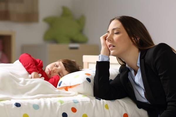 毎晩寝落ち…家事はたまるし自分の時間もないとき、みんなどうしてる? ママたちの声をご紹介!