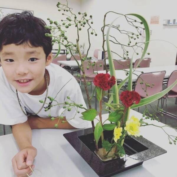 「お花って楽しい!」未就学児にも楽しめる「花道」の世界!