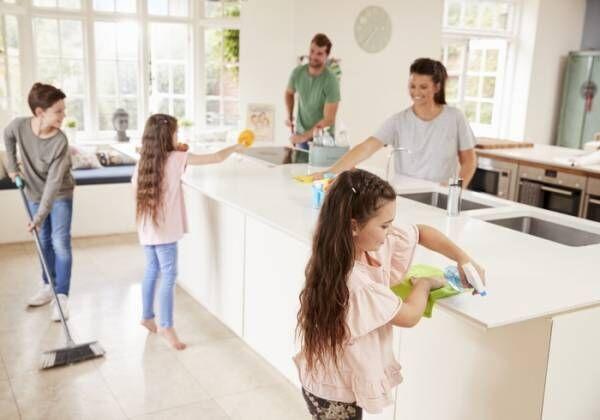 家事は家族の中でシェアして分担しよう!専門家に聞く夫と子へのうまい家事のまかせ方