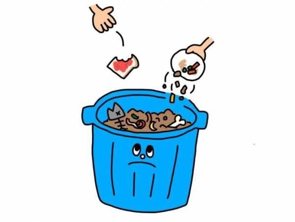 毎日お茶わん約1杯分のごはんを捨てている?!まだ食べられるものが捨てられてしまう食品ロスについて考えよう