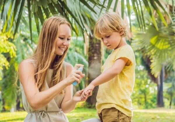 子どもも大人も使える、虫よけUVアイテム