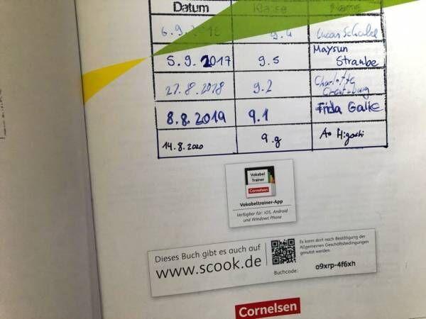 ドイツ学校に見る、エコな教科書