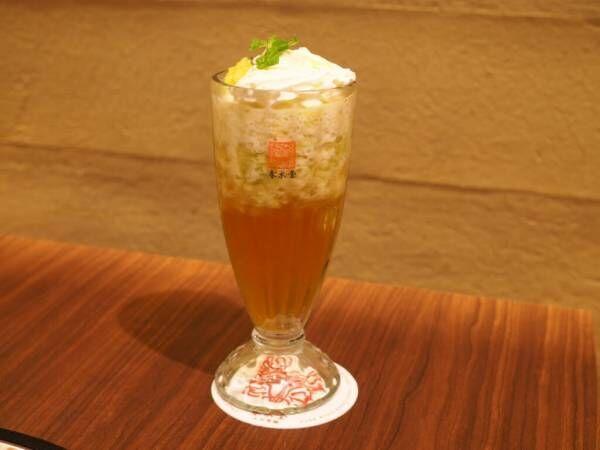 春水堂のフルーツティー「果肉茶」シリーズ第一弾はメロン 環境に配慮した試みにも注目