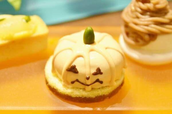 〈ハイアット リージェンシー東京〉で秋のほっこりティータイム。