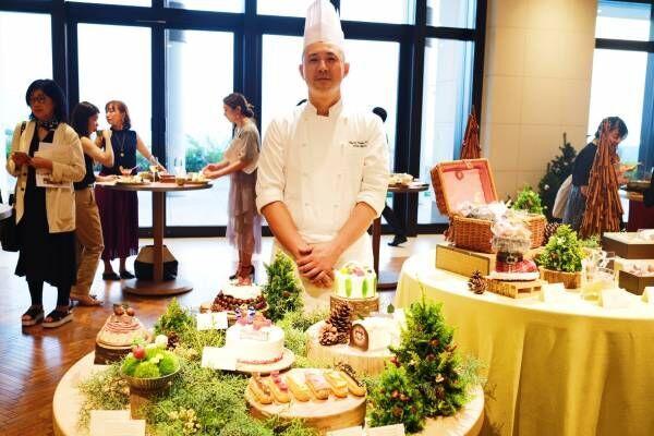 〈アンダーズ 東京〉が2019年のクリスマスケーキ・ディナーをお披露目。