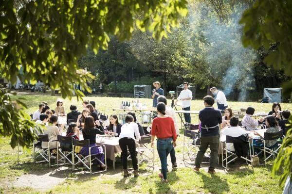 〈パーラー江古田〉×〈マルディグラ〉のスペシャルコラボが実現!西武鉄道沿線で、秋のピクニック。