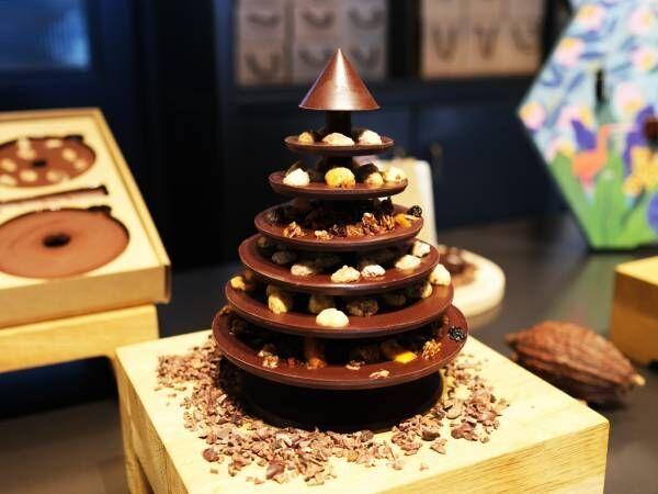 〈ル ・ショコラ・アラン・デュカス〉から2019年クリスマス限定メニューが登場。
