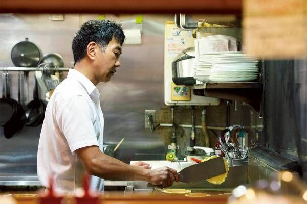 自由が丘の老舗パンケーキ専門店〈花きゃべつ〉で、昔ながらの愛され続ける味を。