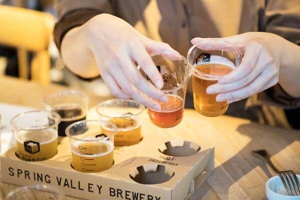 クラフトビールゼミ集大成!〈スプリングバレーブルワリー〉オリジナルのペアリング、一番人気はどれ?