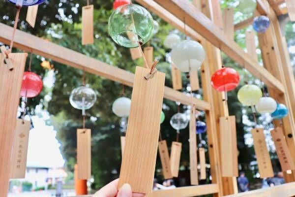 縁結びの神様として毎年人気!〈川越氷川神社〉の夏祭り『縁むすび風鈴』が9月8日(日)まで開催中。