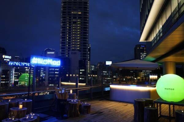 〈アンド ザ フリット〉とコラボが話題の〈NoMad Grill Lounge〉ビアガーデン。