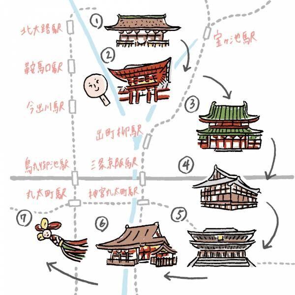 京都女子旅は神社&お寺を巡る「女子運即UPコース」へ。舞妓も参拝する究極の美容の神とは?
