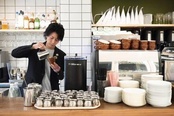 3人のスターパティシエ&バリスタが奇跡のコラボ!〈Triangle Cafe〉でしか味わえないコラボスイーツが大人気。