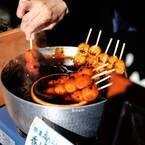 タレに浸った団子に惚れ惚れ。甘味処〈清水菓寮 六角庵〉へ。~カフェノハナシin KYOTO〜