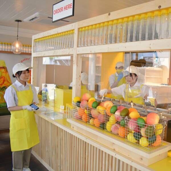 フルーツたっぷりの紅茶やかき氷が楽しめる、〈Lipton TEA STAND Fruits in Tea DAIKANYAMA〉が期間限定オープン!