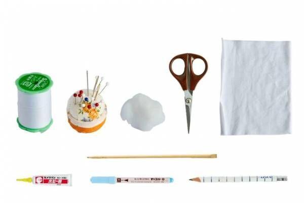 手縫いでサクサク作れる!古くなったTシャツやハギレを活用したマスコットの作り方。