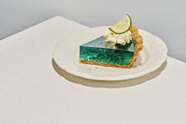 冷凍パイシートで簡単に作れる!海を切り取ったような「ライムゼリーパイ」のレシピ