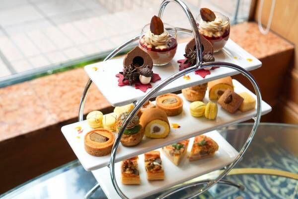 1カ月限定!〈ロイヤルパークホテル〉のマロンアフタヌーンティーで秋を先取り。