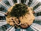 納豆パスタ発祥の地に降り立つ!〈壁の穴 渋谷本店〉の「きのこ&納豆のボンゴレ」。