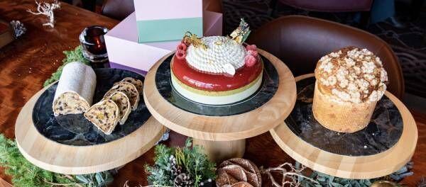 〈フォーシーズンズホテル東京大手町〉ホテル開業後初のフェスティブシーズンを彩るスイーツが登場。
