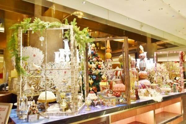 ヒルトン東京のクリスマス・スイーツビュッフェでおとぎの世界へ!