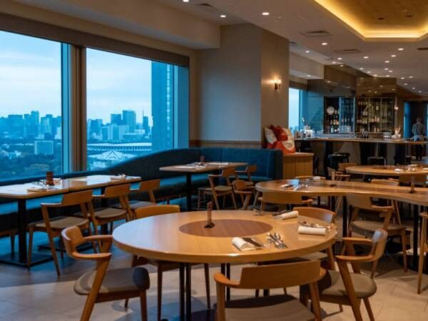 地上100mの絶景レストラン! 新宿〈小田急ホテルセンチュリーサザンタワー〉のクリスマスディナー。