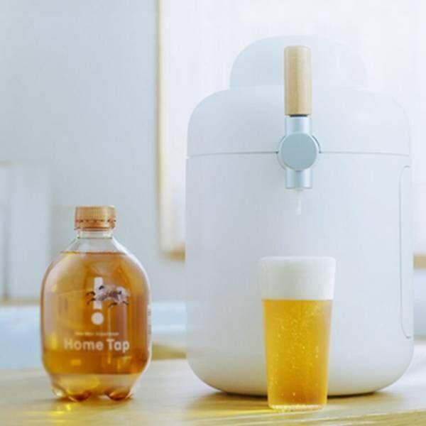 おうちでクリーミーな泡がおいしい生ビールを楽しめる!「キリン ホームタップ」を体験。