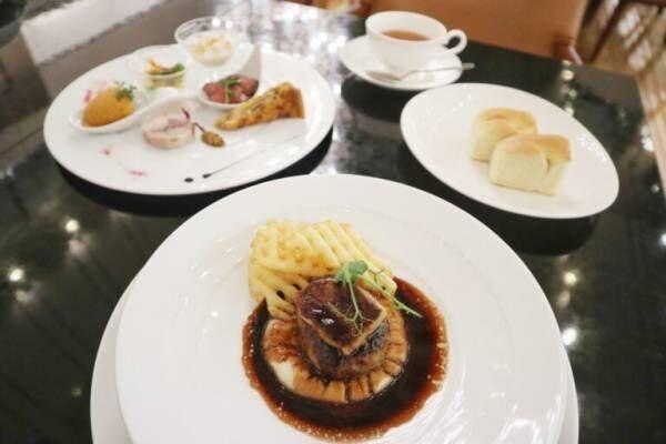いちごをお好きなだけ!〈ホテルグランヴィア大阪〉苺スイーツ×フォアグラハンバーグの贅沢Wコースを堪能。