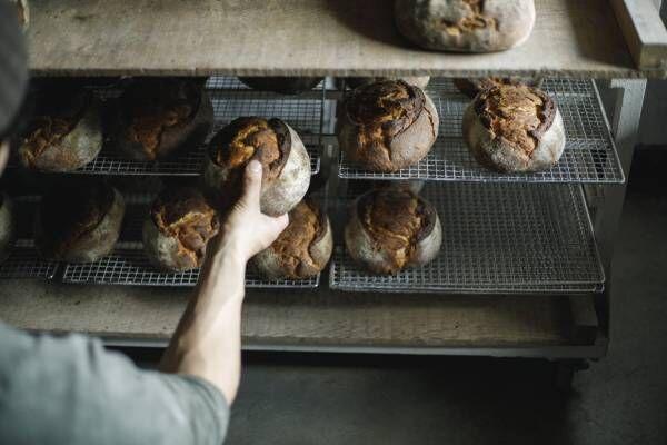 【京都】手ごね、薪窯焼成のベーカリー〈弥栄窯〉へ。山の風景を見ながら、パンと生きる夫婦の物語。