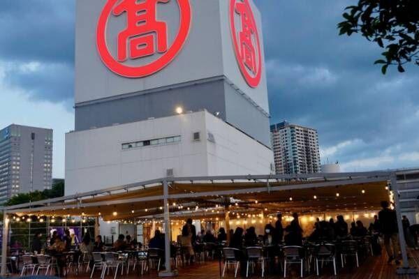 大迫力のTボーンステーキに夢中!横浜駅直結〈横浜髙島屋ビアガーデン 星空GRILL〉 OPEN。