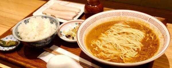 """まるで""""すする焼き魚""""〈炭火焼濃厚中華そば海富道(しーふーどう)〉が神田にオープン。"""