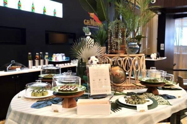 〈ANAインターコンチネンタルホテル東京〉が『抹茶スイーツブッフェ』を開催!