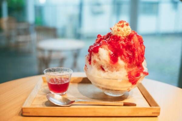 〈AKOMEYA食堂〉の夏の新作は、リキュールで楽しむ「大人のかき氷」?!