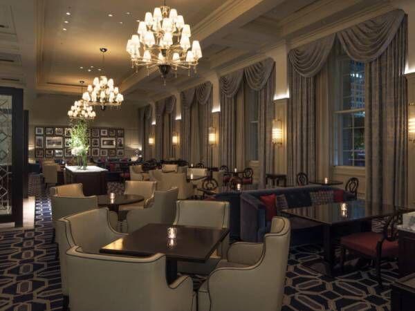 〈東京ステーションホテル〉で楽しむ夕方からのお茶会「トワイライト ハイティー」。