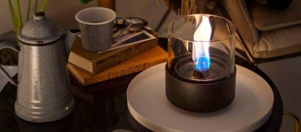 「お部屋キャンプファイヤー」で自律神経を整えて精神を安定も。炎を感じるインテリア3選
