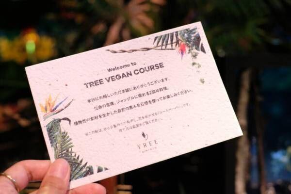 〈TREE by NAKED yoyogi park〉で非日常体験となるような食×アート体験を。