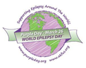 3月26日は世界的なてんかん啓発「パープルデー」。紫を身につけててんかんを広めよう!