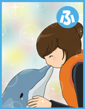 「イルカと一緒に泳ぎたい」発達障害がある娘が長年の夢を叶えた!小さいけれど、大きな一歩とは?