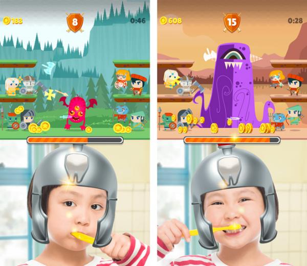 歯みがき嫌いをやっつけろ!ゲーム感覚アプリ「はみがき勇者」で、楽しく習慣化の画像
