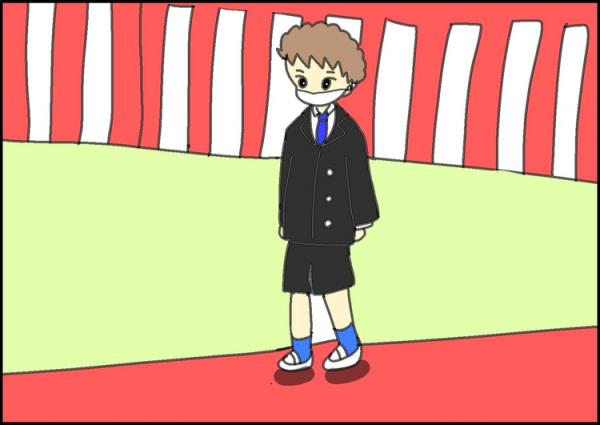 6年間ありがとう!特別支援学校の卒業式。一生忘れない、ひときわ小さな自閉症長男の雄姿の画像
