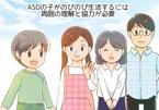 自閉症・ASDは医学的な治療はできるの?療育の原則SPELLも解説。マンガで学ぶ自閉スペクトラム症