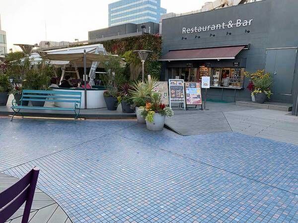 東京都内 親子で行きたいデパート&ショッピングモールの「屋上庭園」