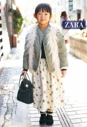 冬の『ZARA』キッズコーディネートSNAP! 大人顔負けのアイテムに注目!