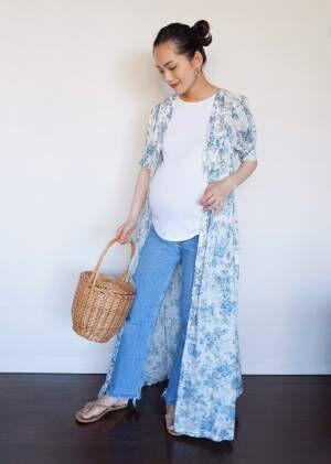モデル・ 武智志穂さんの素敵に楽しむマタニティライフ