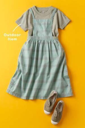 人気アウトドアブランドでつくるトレンドコーデ10選 キッズの夏服はこれに決まり!