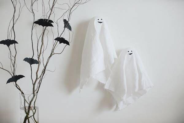 【kinakoさん 親子工作アイディア】簡単で可愛いハロウィン飾りをつくろう!