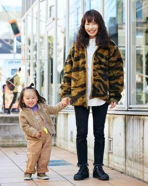 業界ママの気になる休日コーデ 【冬スナップ】