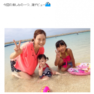 蛯原英里の娘は1歳で海デビュー!「初めての海遊び」での注意点とおすすめビーチ3選